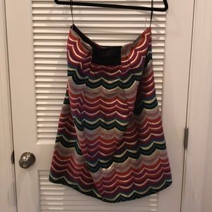 See By Chloe Strapless Dress Sz 6